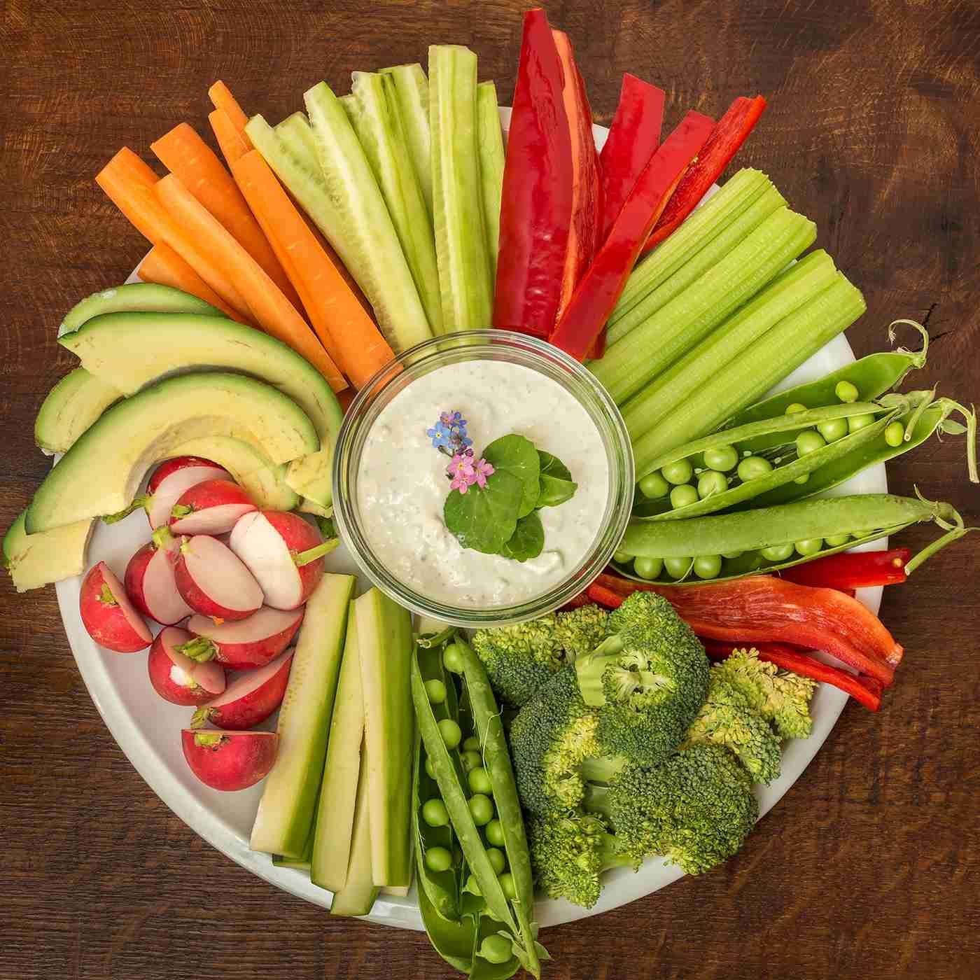 Zeleninové crudité
